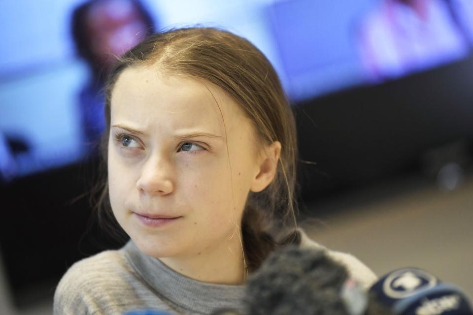 Den svenske klimaaktivist Greta Thunberg blev også sidste år nomineret til Nobels Fredspris, men her vandt hun ikke. (Foto: Pontus Lundahl/TT/Ritzau Scanpix)
